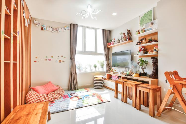 Căn hộ The Park Residence 2 phòng ngủ tầng thấp B2 full nội thất