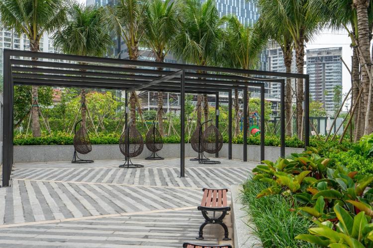 công viên căn hộ Saigon South Residence Cho thuê căn hộ Saigon South Residence nội thất đẩy đủ, view công viên