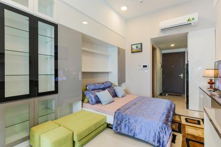 Căn hộ RiverGate 1 phòng ngủ tầng thấp tháp A đầy đủ nội thất