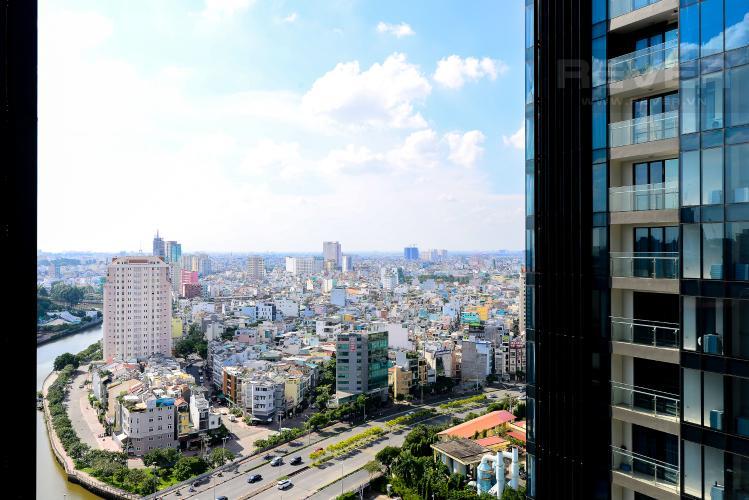 View Bán căn hộ Vinhomes Golden River 1PN tầng cao, đầy đủ nội thất, view sông thoáng mát
