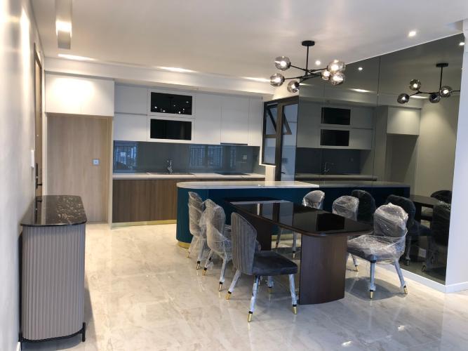 Phòng bếp căn hộ Riviera Point Căn hộ tầng cao Riviera Point 2 phòng ngủ, nội thất đầy đủ.
