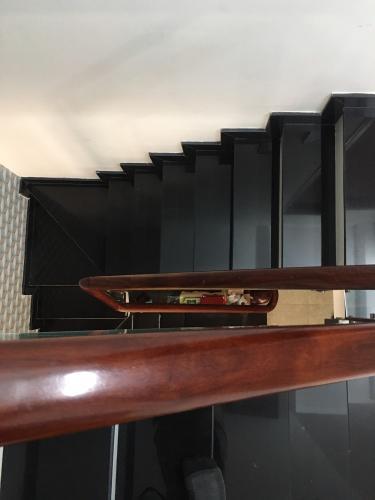 Cầu thang nhà phố Minh Phụng, Quận 6 Nhà phố diện tích 41.2m2, sổ hồng riêng bàn giao ngay.