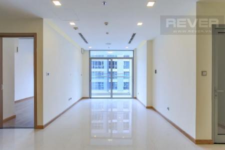 Căn hộ Vinhomes Central Park tầng cao, tháp Park 6, 2PN, nội thất cơ bản