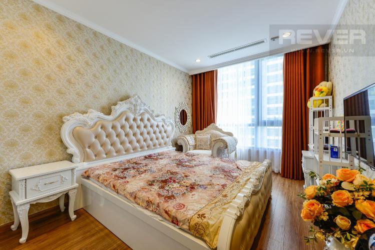 phòng ngủ 3 Căn hộ Vinhomes Central Park tầng trung C1 thiết kế đẹp, sang trọng