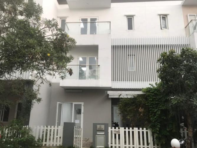 Cho thuê nhà phố Melosa Garden, Quận 9, DT 188m2, không nội thất, kết cấu 3 tầng