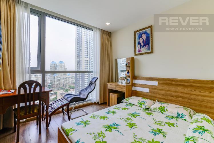 Phòng Ngủ 1 Officetel Vinhomes Central Park 2 phòng ngủ tầng cao P7 hướng Tây Bắc
