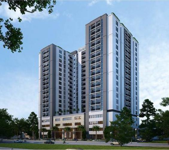 Phối cảnh dự án Kingsway Căn hộ Kingsway Tower tầng trung, 2 phòng ngủ, nội thất cơ bản.