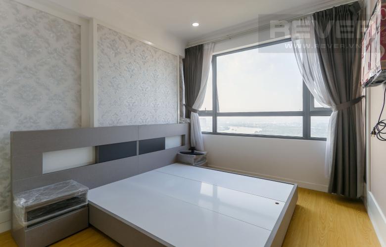 Phòng Ngủ 1 Cho thuê căn hộ Masteri Thảo Điền tầng cao, 3PN, view sông