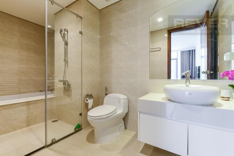 Phòng tắm 2 Căn hộ Vinhomes Central Park 4 phòng ngủ tầng cao C2 view sông