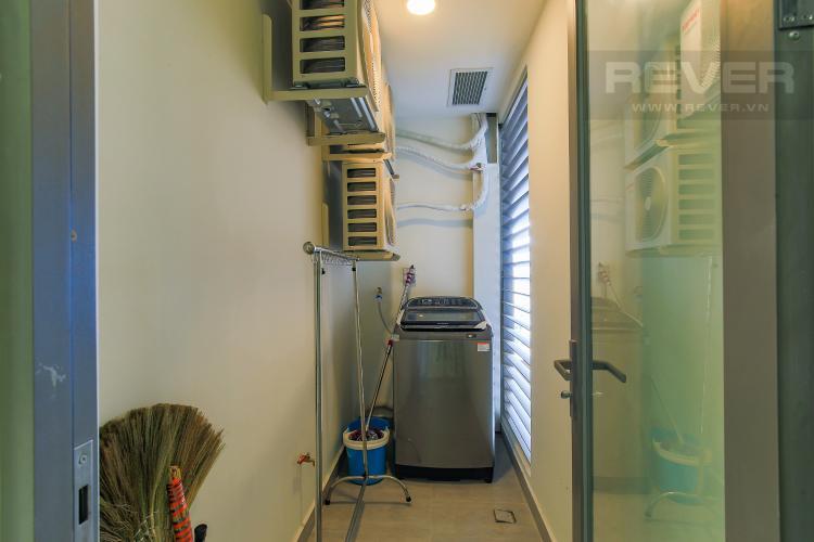 Logia Cho thuê căn hộ Masteri Millennium tầng trung, đầy đủ nội thất, 2PN