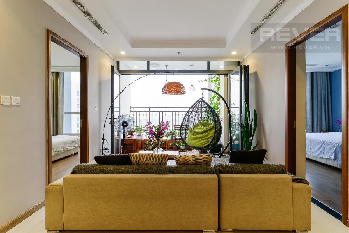 4cb382fddea927f77eb8 Bán căn hộ Vinhomes Central Park 3PN, đầy đủ nội thất, view sông và nội khu