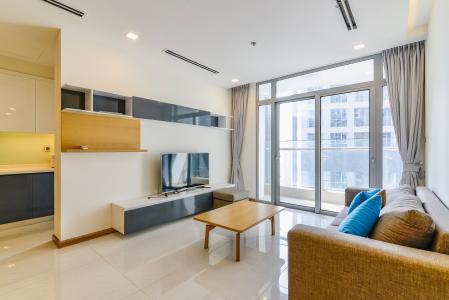 Căn góc Vinhomes Central Park 3 phòng ngủ tầng cao P1 nội thất đầy đủ