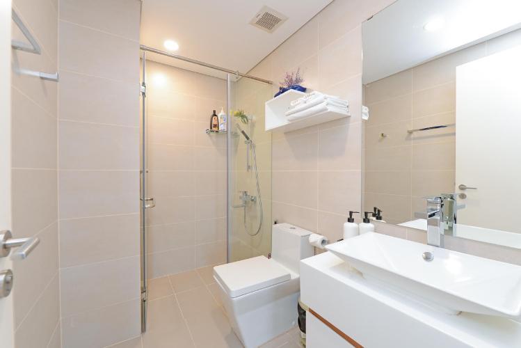 Phòng tắm Masteri Millennium Quận 4 Căn hộ Masteri Millennium tầng cao, ban công hướng Đông Bắc.