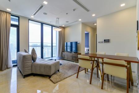 Căn hộ Vinhomes Golden River 2PN tầng cao, view đẹp, đầy đủ nội thất