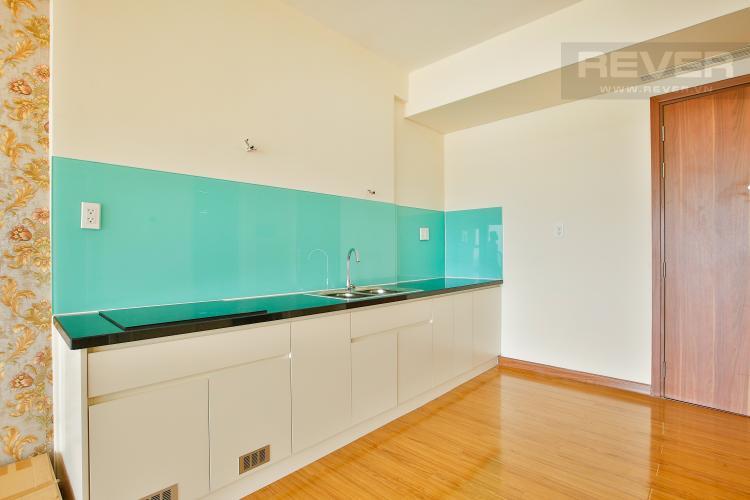 Bếp Căn hộ Flora Fuji tầng trung diện tích 56m2 gồm 1 phòng ngủ, nội thất trống rỗng