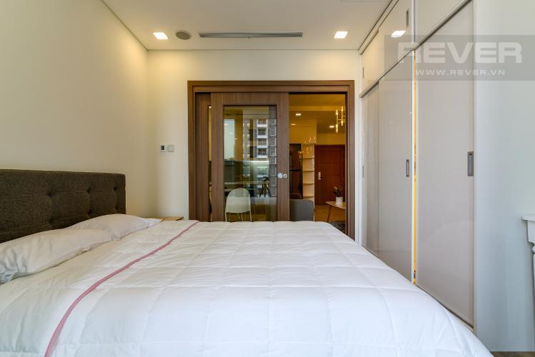 Phòng Ngủ Cho thuê căn hộ Vinhomes Central Park 48m2, nội thất hạng sang, view thành phố