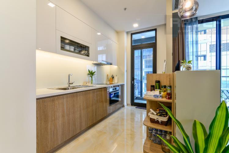 Nhà Bếp Cho thuê căn hộ Vinhomes Golden River tầng cao 3PN đầy đủ nội thất view sông