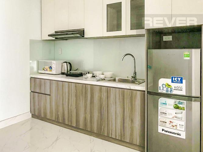 Phòng Bếp Cho thuê căn hộ trên đường Nguyễn Hữu Cảnh, diện tích 25m2 1PN 1WC, đầy đủ nội thất