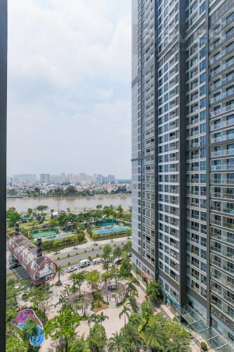 View Bán căn hộ Vinhomes Central Park tầng trung tháp Park 3, 2PN 2WC, đầy đủ nội thất cao cấp