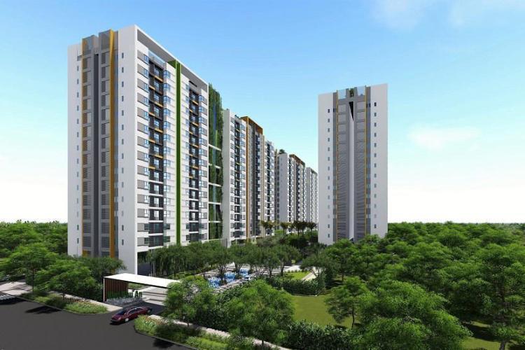 Him Lam Phú An, Quận 9 Căn hộ Him Lam Phú An thiết kế hiện đại tinh tế, nội thất đầy đủ.