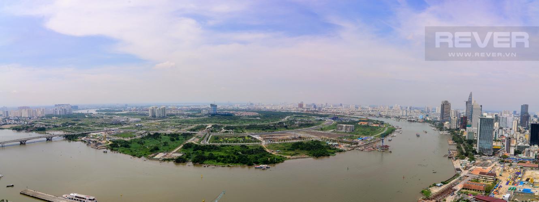 View Bán căn hộ Vinhomes Golden River 3PN, tầng cao, đầy đủ nội thất, view Thủ Thiêm và sông Sài Gòn