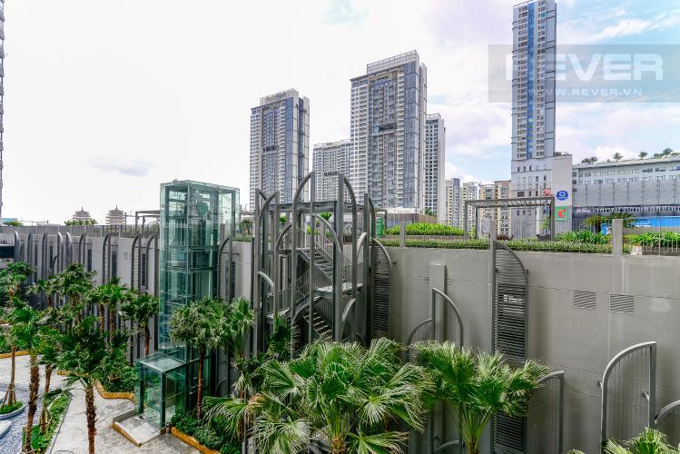 View Cho thuê căn hộ Masteri An Phú 2PN, tầng thấp, tháp A, view hồ bơi nội khu