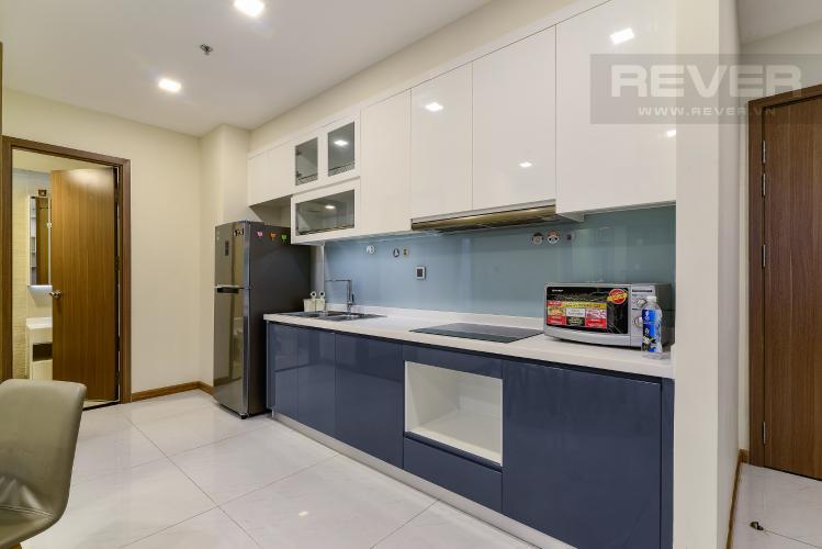 Nhà Bếp Cho thuê căn hộ Vinhomes Central Park tháp Park 1 tầng trung, 2PN đầy đủ nội thất