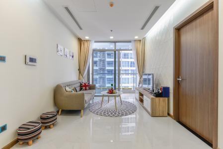 Căn hộ Vinhomes Central Park 2 phòng ngủ tầng thấp Park 4