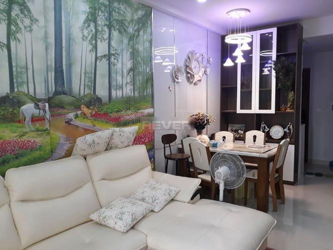 Phòng khách căn hộ Richstar, Tân Phú Căn hộ Richstar nội thất đầy đủ, 2 phòng ngủ.