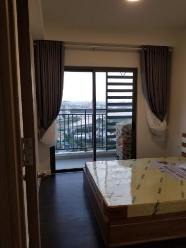 Phòng ngủ The Sun Avenue Căn hộ Penthouse The Sun Avenue nội thất cơ bản, view sông thoáng mát.