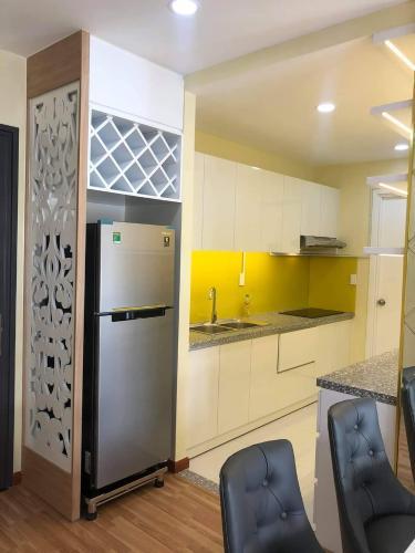 phòng bếp căn hộ diamond riverside Căn hộ Diamond Riverside  tầng cao, ban công hướng Bắc.