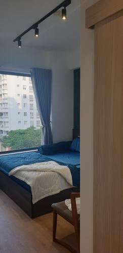 Phòng ngủ Hưng Phúc Premier, Quận 7 Căn hộ Hưng Phúc Premier tầng thấp, view đường nội khu.