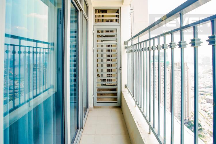 Ban Công Bán căn hộ Vinhomes Central Park hướng Tây Bắc, 103m2 2PN 2WC, nội thất cao cấp, view thành phố