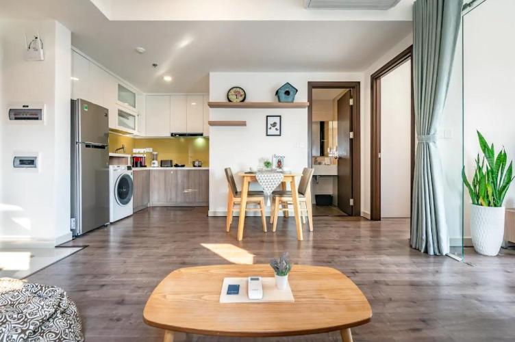 Cho thuê căn hộ The Tresor 2PN, tháp TS2, diện tích 50m2, đầy đủ nội thất