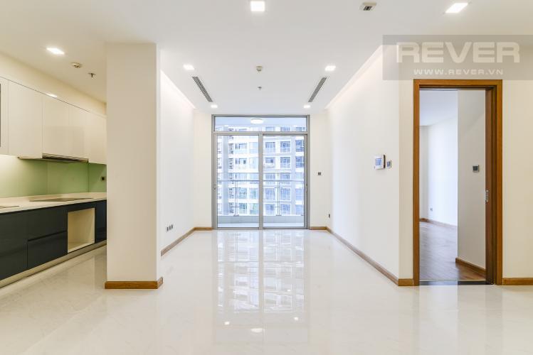 Phòng Khách Căn hộ Vinhomes Central Park 2 phòng ngủ tầng thấp P3 view sông