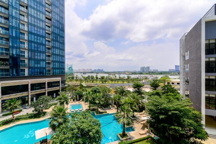 View Bán căn hộ Vinhomes Golden River tháp The Aqua 3 tầng thấp, 3PN 2WC, view sông và view nội khu đẹp