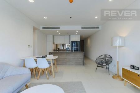 Cho thuê căn hộ City Garden 1 phòng ngủ, tháp Crescent, diện tích 74m2, đầy đủ nội thất