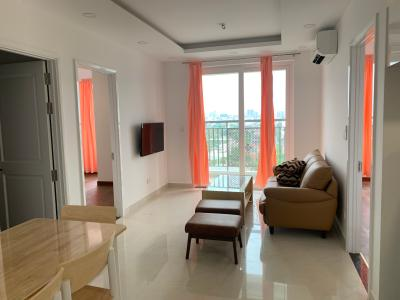 Cho thuê căn hộ Saigon Mia 3PN, đầy đủ nội thất, ban công hướng Bắc nhìn ra đường 5A