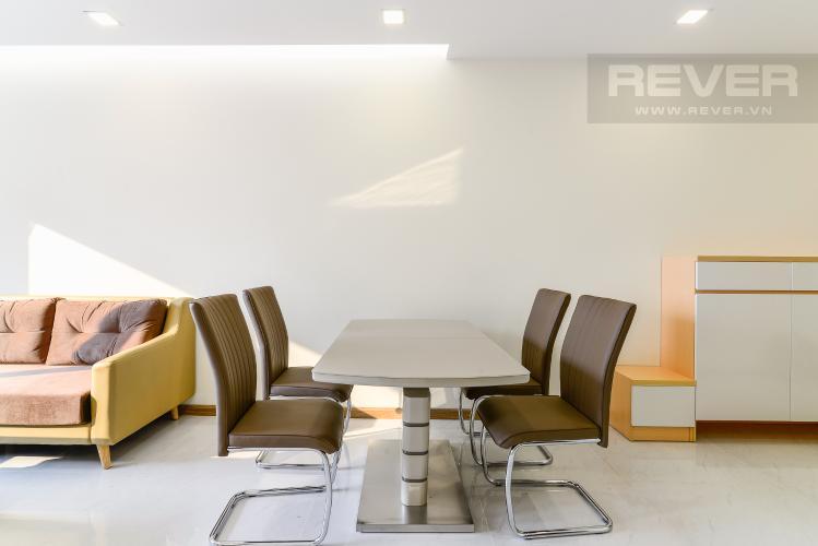 Phòng Ăn Căn hộ Vinhomes Central Park 2 phòng ngủ tầng trung P7 full nội thất