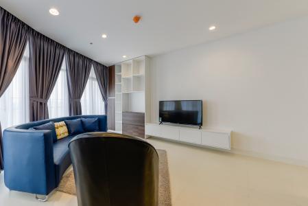 Căn hộ City Garden tầng cao, 2PN đầy đủ nội thất, view đẹp