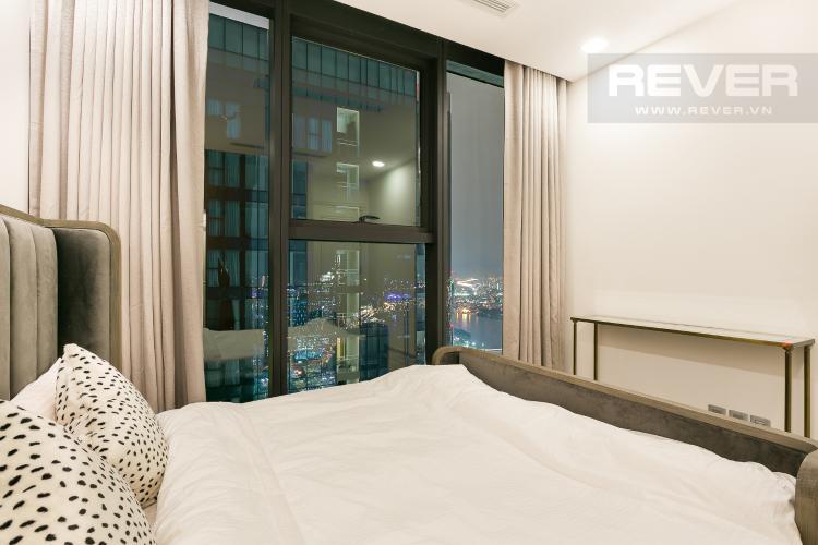 Phòng Ngủ 2 Bán hoặc cho thuê căn hộ Vinhomes Golden River 3PN, tầng cao, đầy đủ nội thất, view sông Sài Gòn và Thủ Thiêm