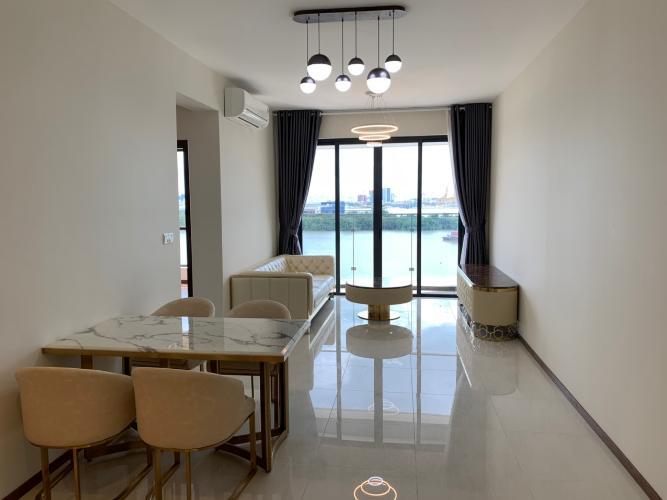 Căn hộ One Verandah nội thất cơ bản, view sông thoáng mát.