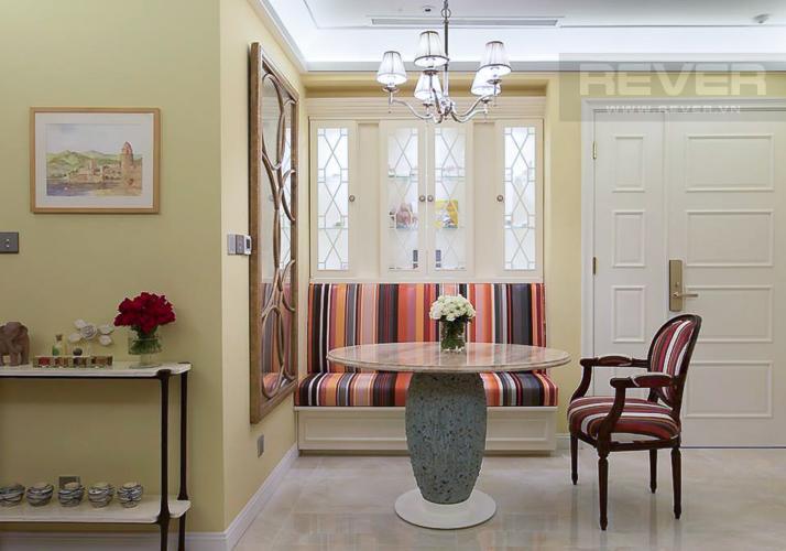 Phòng Ăn Cho thuê căn hộ Vinhomes Golden River 2PN, đầy đủ nội thất, thiết kế sang trọng