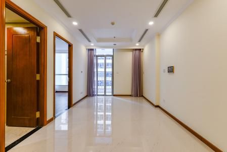 Căn hộ Vinhomes Central Park 1 phòng ngủ tầng cao L6 nhà trống