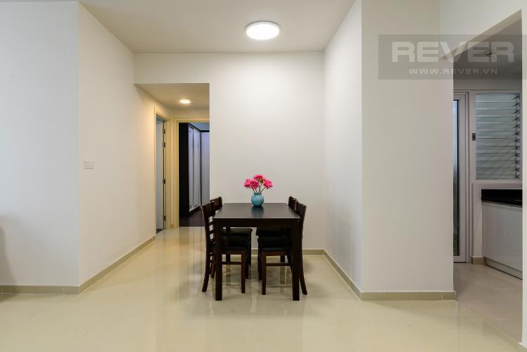 Phòng Ăn Cho thuê căn hộ Vista Verde 2PN, tầng trung, đầy đủ nội thất, view hồ bơi