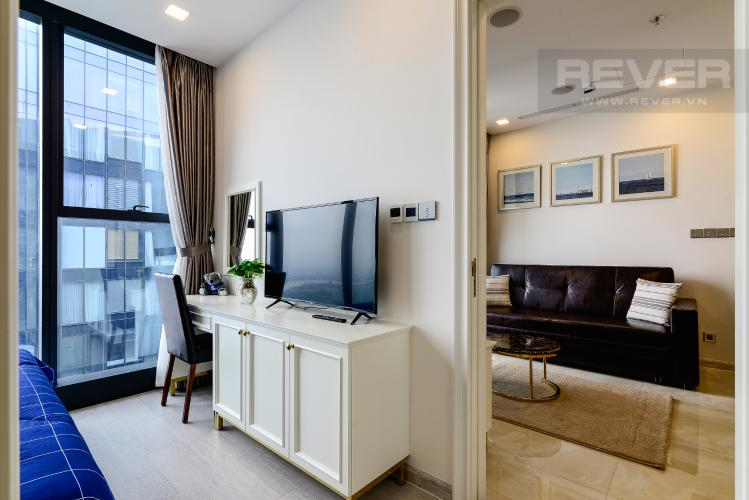 Phòng Ngủ 1 Căn hộ Vinhomes Golden River tầng cao, 2PN nội thất đầy đủ, view sông