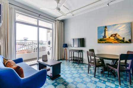 Căn hộ Prince Residence 2 phòng ngủ tầng thấp P2 nội thất đầy đủ