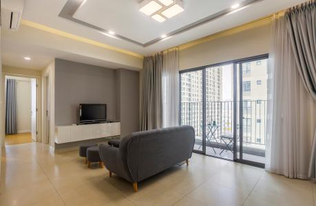 Cho thuê căn hộ Masteri Thảo Điền Quận 2 tầng trung, 2PN, đầy đủ nội thất