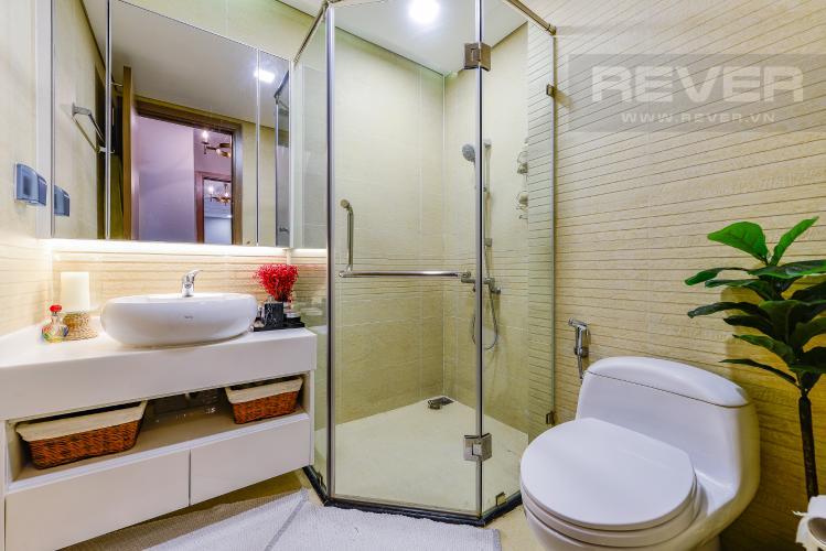 Phòng tắm 1 Căn hộ Vinhomes Central Park tầng trung, tháp Park 5, 2 phòng ngủ, full nội thất