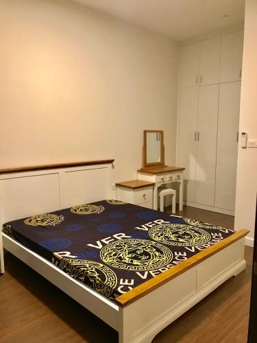 phòng ngủ 2 căn hộ Sunrise Riverside Cho thuê căn hộ 2 phòng ngủ Sunrise Riverside, ban công hướng Bắc